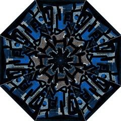 Abstract Art Straight Umbrellas by ValentinaDesign