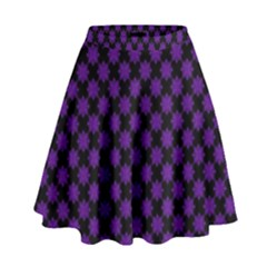 Pattern High Waist Skirt by ValentinaDesign