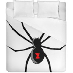 Black Widow cartoon Duvet Cover (California King Size)
