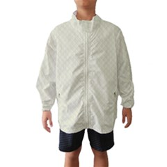 Rich Cream Stitched and Quilted Pattern Wind Breaker (Kids)