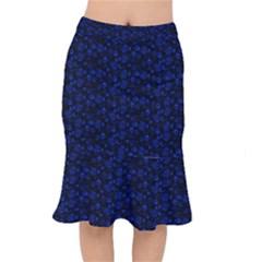 Roses Pattern Mermaid Skirt by Valentinaart