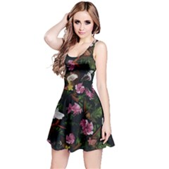 Tropical Pattern Reversible Sleeveless Dress by Valentinaart