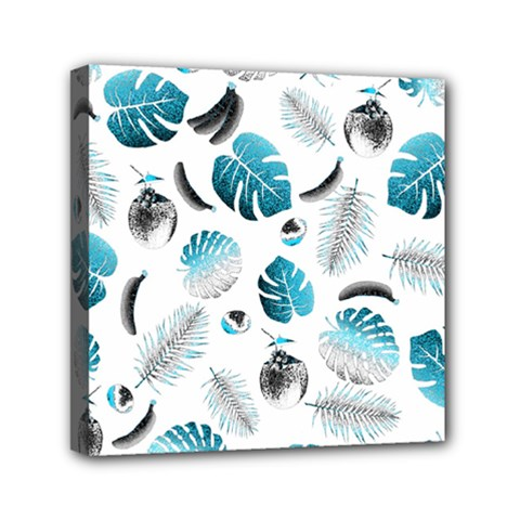Tropical Pattern Mini Canvas 6  X 6  by Valentinaart