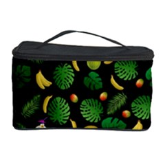 Tropical Pattern Cosmetic Storage Case by Valentinaart