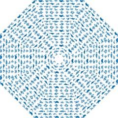 Fish Pattern Golf Umbrellas by ValentinaDesign