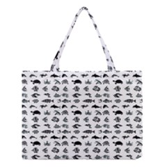 Fish Pattern Medium Tote Bag by ValentinaDesign