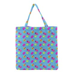 Summer Pattern Grocery Tote Bag by ValentinaDesign