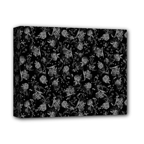 Floral Pattern Deluxe Canvas 14  X 11  by ValentinaDesign
