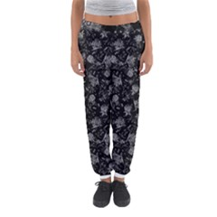 Floral Pattern Women s Jogger Sweatpants by ValentinaDesign