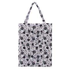 Floral Pattern Classic Tote Bag by ValentinaDesign
