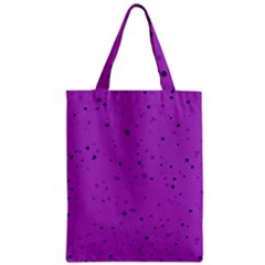 Dots Pattern Zipper Classic Tote Bag by ValentinaDesign