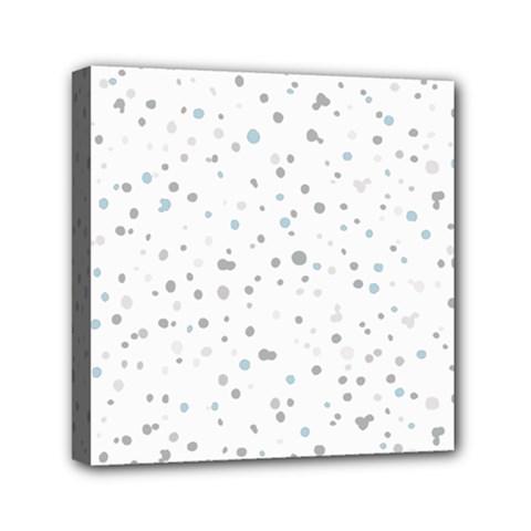 Dots Pattern Mini Canvas 6  X 6  by ValentinaDesign