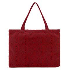 Abstract Art  Medium Zipper Tote Bag by ValentinaDesign