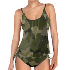 Forest Camo Tankini Set by TRENDYcouture