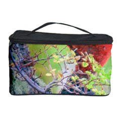 Woodpecker At Forest Pecking Tree, Patagonia, Argentina Cosmetic Storage Case by dflcprints