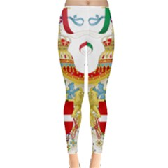 Coat Of Arms Of The Kingdom Of Italy Leggings  by abbeyz71