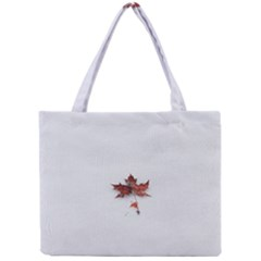 Winter Maple Minimalist Simple Mini Tote Bag by Nexatart