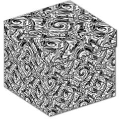 Gray Scale Pattern Tile Design Storage Stool 12   by Nexatart