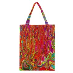 Background Texture Colorful Classic Tote Bag by Nexatart