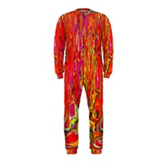 Background Texture Colorful Onepiece Jumpsuit (kids) by Nexatart
