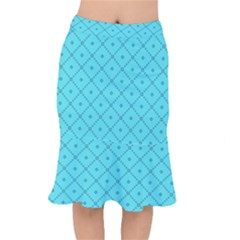 Pattern Background Texture Mermaid Skirt