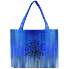 Background Christmas Star Mini Tote Bag by Nexatart
