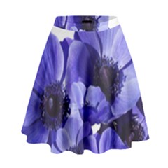 Poppy Blossom Bloom Summer High Waist Skirt by Nexatart