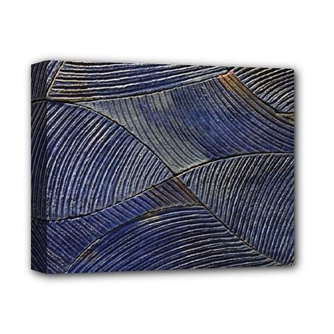 Textures Sea Blue Water Ocean Deluxe Canvas 14  X 11  by Nexatart
