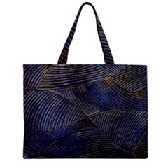 Textures Sea Blue Water Ocean Zipper Mini Tote Bag by Nexatart