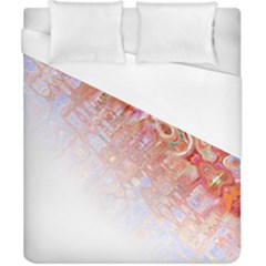 Effect Isolated Graphic Duvet Cover (California King Size)