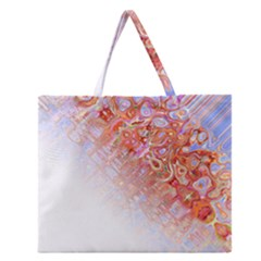 Effect Isolated Graphic Zipper Large Tote Bag by Nexatart