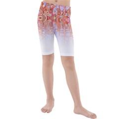 Effect Isolated Graphic Kids  Mid Length Swim Shorts by Nexatart