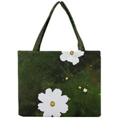 Daisies In Green Mini Tote Bag by DeneWestUK