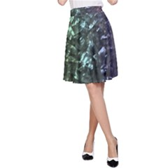 Natural Shimmering Mother Of Pearl Nacre  A Line Skirt by PodArtist