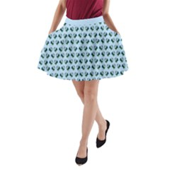 Practically Perfect Small A Line Pocket Skirt by mundanemagicco