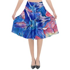 Wonderful Floral 22c Flared Midi Skirt by MoreColorsinLife