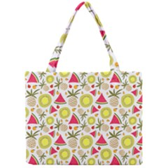 Summer Fruits Pattern Mini Tote Bag by TastefulDesigns