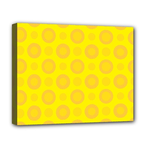 Cheese Background Deluxe Canvas 20  X 16   by berwies
