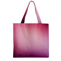 Background Blurry Template Pattern Zipper Grocery Tote Bag by Nexatart