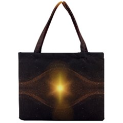 Background Christmas Star Advent Mini Tote Bag by Nexatart