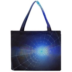 Network Cobweb Networking Bill Mini Tote Bag by Nexatart