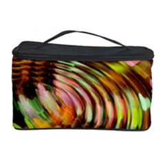 Wave Rings Circle Abstract Cosmetic Storage Case by Nexatart
