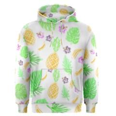 Tropical Pattern Men s Pullover Hoodie by Valentinaart