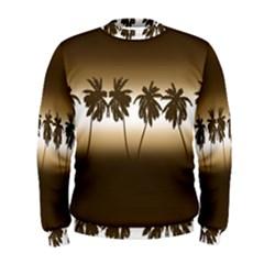 Tropical Sunset Men s Sweatshirt by Valentinaart