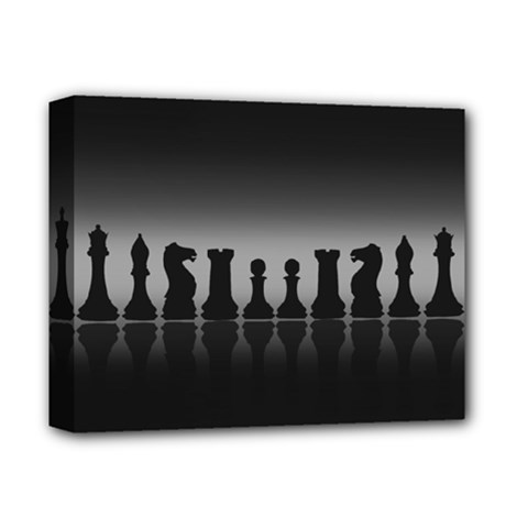 Chess Pieces Deluxe Canvas 14  X 11  by Valentinaart