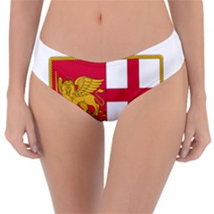 Coat Of Arms Of The Italian Navy  Reversible Classic Bikini Bottoms