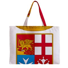 Coat Of Arms Of The Italian Navy Zipper Mini Tote Bag by abbeyz71