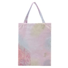 Watercolor Floral Classic Tote Bag by Nexatart