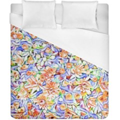 Lovely Floral 31d Duvet Cover (california King Size) by MoreColorsinLife