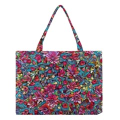 Lovely Floral 31a Medium Tote Bag by MoreColorsinLife